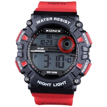 Xonix Saat Kırmızı